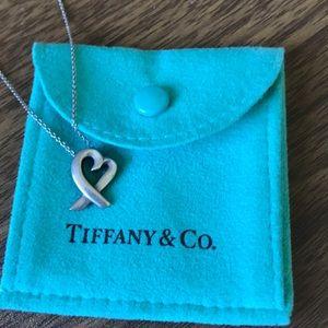 Tiffany Paloma Picasso Loving Heart Pendant